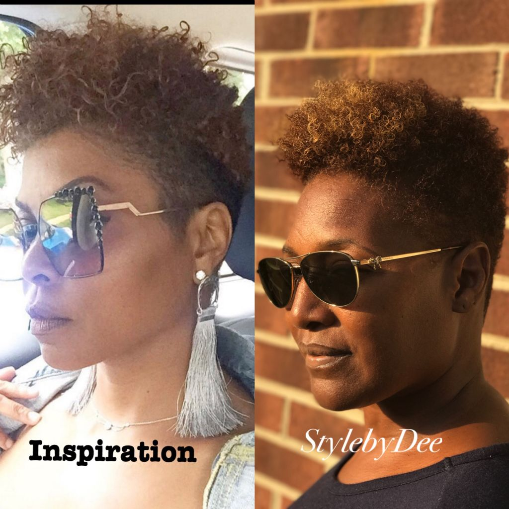 Taraji Inspirational hair cut