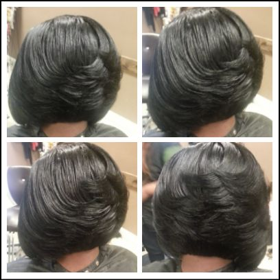 Go Back > Gallery For > Layered Weave Bob Hairstyles
