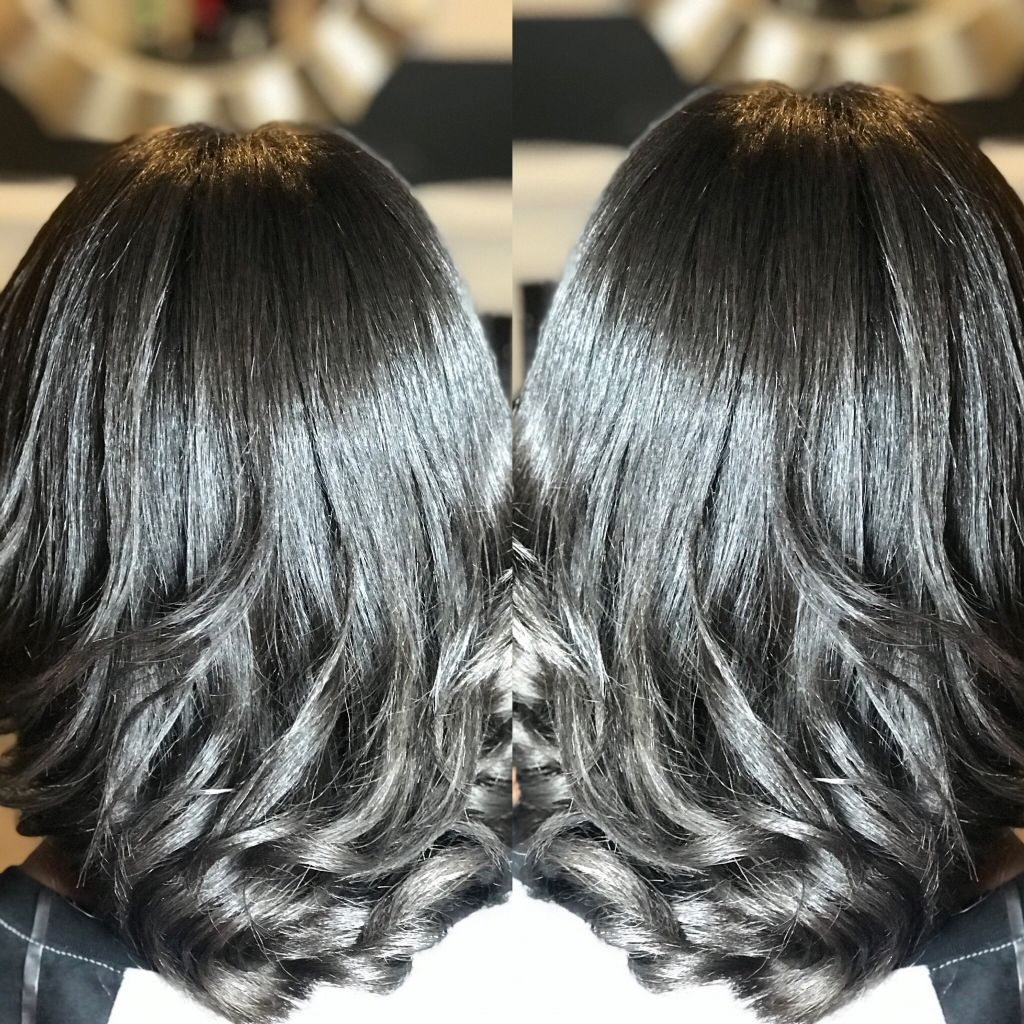 drop silked curls on natural hair