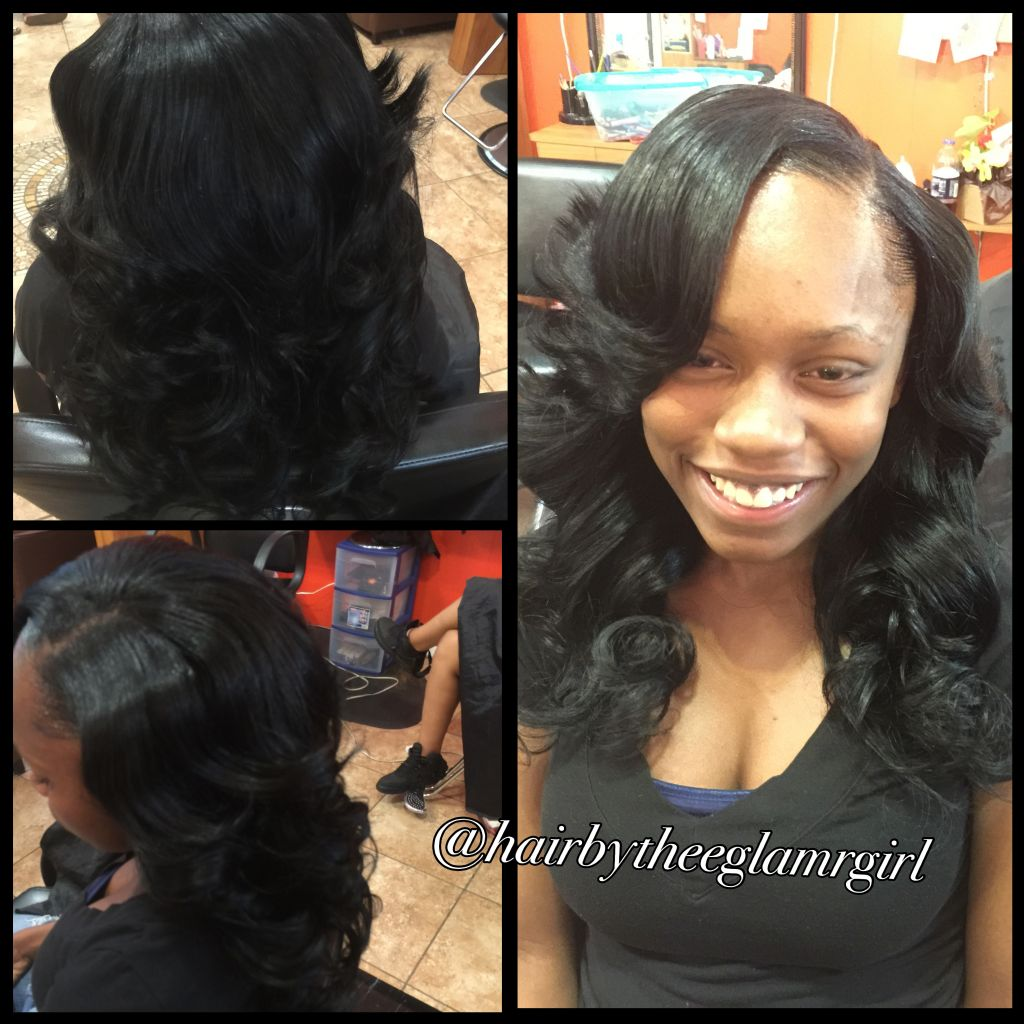 sew in minor with leave out
