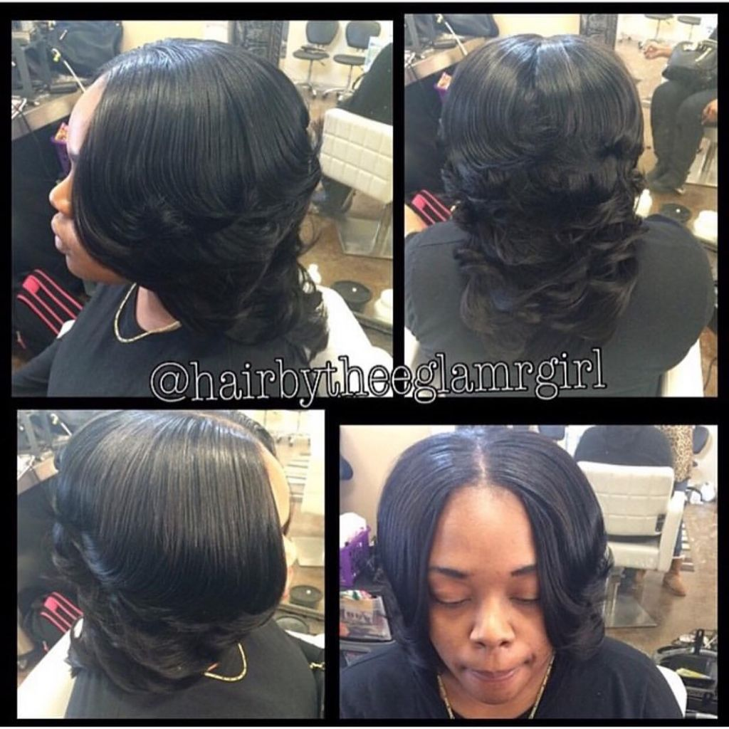 long layered sew in